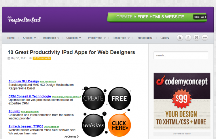 10 Great Productivity iPad Apps for Web Designers