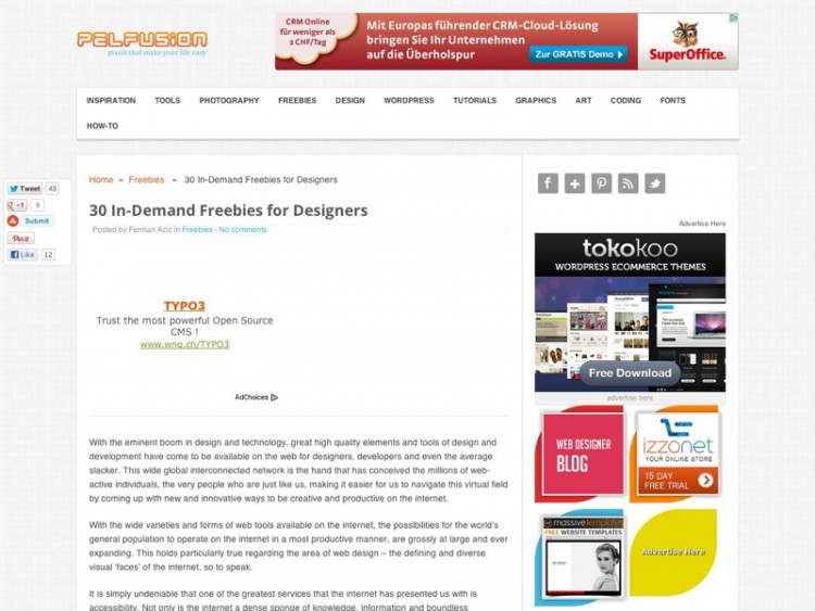 30 In-Demand Freebies for Designers