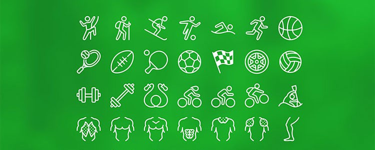 Icons8 sports icon pack